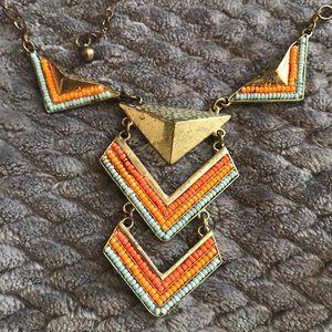 Jewelry - festival jewelry bundle! 3 necklaces bead chevron